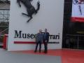 Das Ferrari-Museum in Maranello.