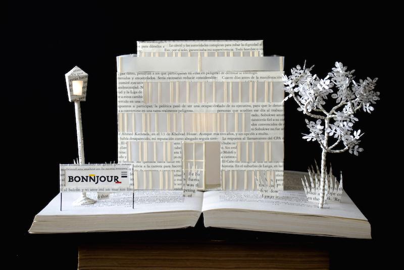 Bonnjour Building Book art with signature02
