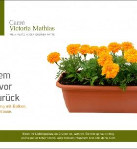 Nur ein Beispiel von vielen Postkartenmotiven, die für das Carré Victoria Mathias von DERFROSCH entworfen wurden.