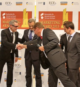 Immobilien-Marketing-Award 2013 (ganz links: Frank Froseschke/DERFROSCH)