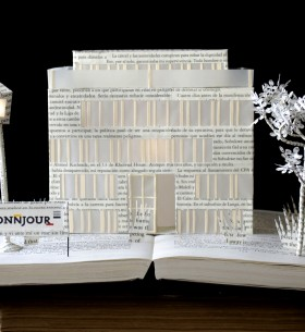 Bonnjour Building Book art with signature02